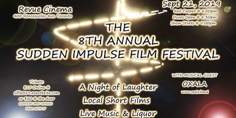 8TH ANNUAL SUDDEN IMPULSE FILM FESTIVAL tickets