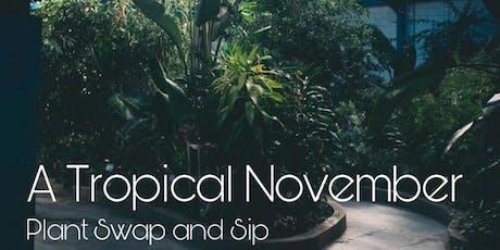 A Tropical November tickets