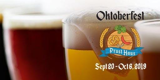 Oktoberfest Kick Off Weekend