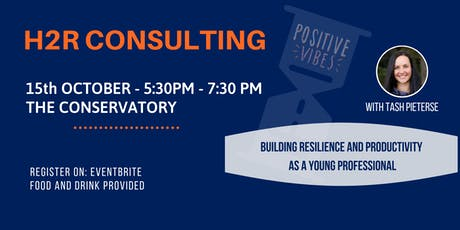 Building Resilience and Productivity as a Young Professional tickets