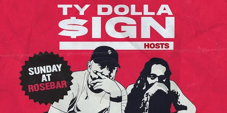Ty Dolla $ign hosts the INDIGOAT TOUR After Party Sunday at Rosebar tickets