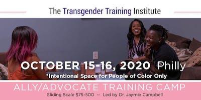 POC-Only: Transgender Ally/Advocate Training Camp - October 15-16, 2020