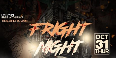 """Fright Night"" Halloween Costume Party  At TAJ NYC tickets"