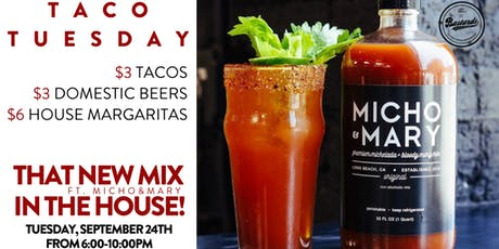 Taco Tuesday Pop-Up with Micho & Mary tickets