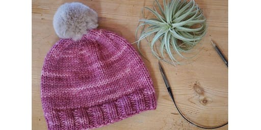 Knit A Hat [Level 3] (2019-11-02 starts at 10:30 AM)