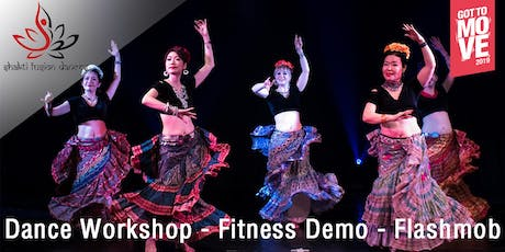 Dance Workshop: ATS® Bellydance - Dance with Passion, Grace & Confidence tickets
