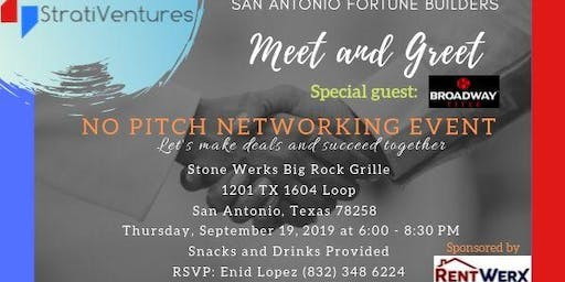 San Antonio Fortune Builders  - Meet & Greet! No pitch networking event!