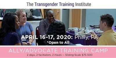 Transgender Ally/Advocate Training Camp - April 16-17, 2020