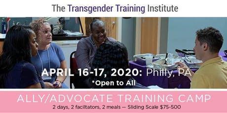 Transgender Ally/Advocate Training Camp - April 16-17, 2020 tickets