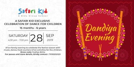 Dandiya Evening- Safari Kid Koregaon Park tickets
