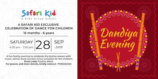 Dandiya Evening- Safari Kid Koregaon Park