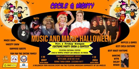 Cecile & Mighty Magical Halloween tickets