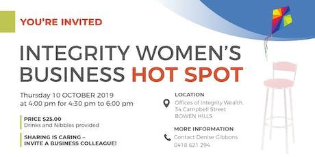 Integrity Women's Business Hot Spot tickets