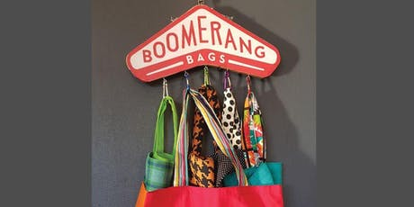 Boomerang Bag Making Workshop - November tickets