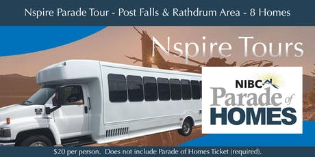 Parade of Homes Bus Tour - Post Falls & Rathdrum Area tickets