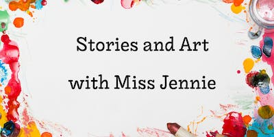 Stories and Art with Miss Jennie - Construction Theme