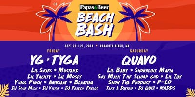 PAPAS AND BEER BEACH BASH