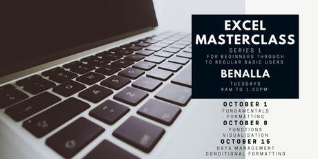 Excel Masterclass Series presented by a Specialist Certified by Microsoft tickets