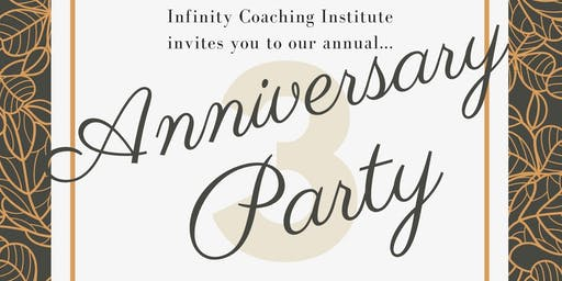 Infinity Coaching 3rd Anniversary Party