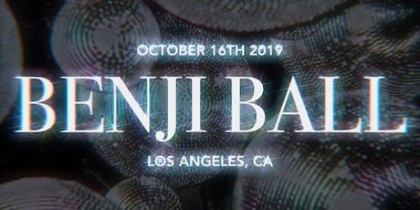 Benji Ball 2019 tickets