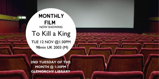 Monthly film showings - November @ Glenorchy Library