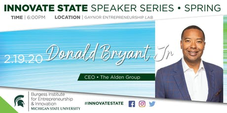 Innovate State, with Donald Bryant, Jr.  tickets