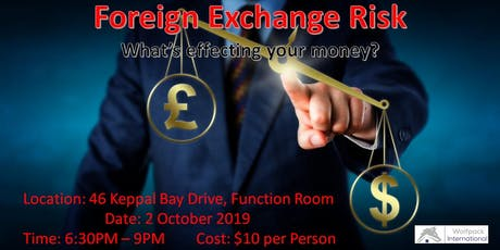 Foreign Exchange Risk tickets