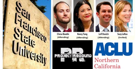 SF District Attorney Forum Hosted by Project Rebound & ACLU of Northern CA tickets