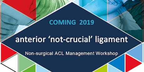ACL tears: Non-surgical Management Workshop tickets
