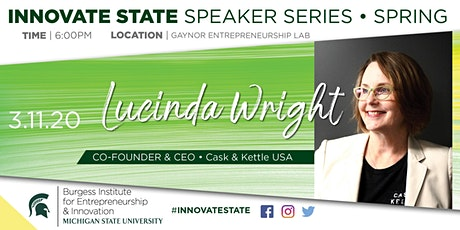 Innovate State, with Lucinda Wright  tickets