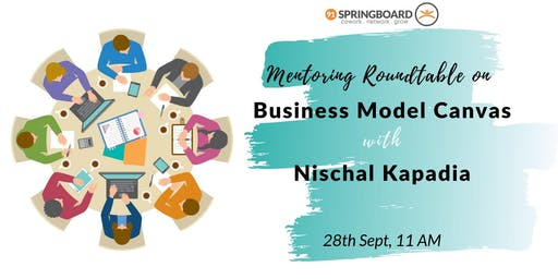 Mentoring Roundtable on Business Model Canvas