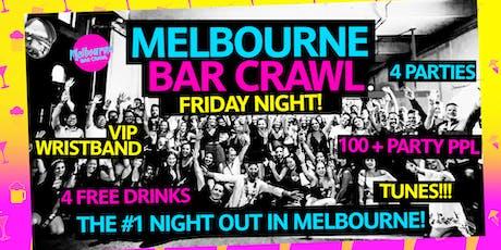 Melbourne Bar Crawl [Friday Night] tickets