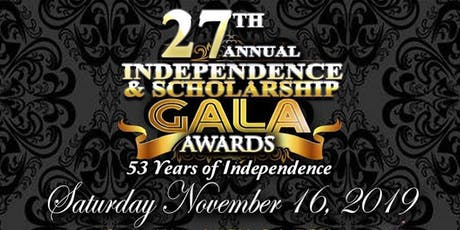 27th Annual Independence and Scholarship Gala tickets