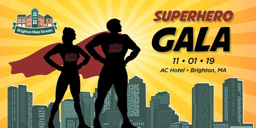 Brighton Main Streets' SuperHero Gala