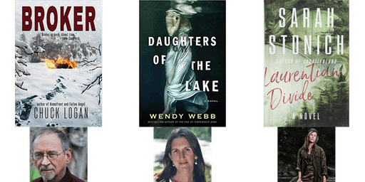 October Author Event - Chuck Logan, Wendy Webb, Sarah Stonich