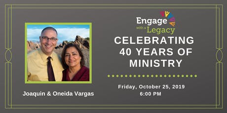 Engage with a Legacy: 40 years of Ministry tickets