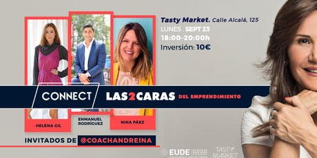 Connect: Las dos caras del emprendimiento entradas