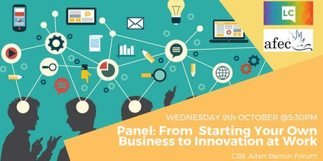 Entrepreneurship Talks: Starting Your Own Business to Innovation at Work tickets