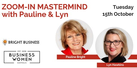 BUSINESS PLANNING WEBINAR with Pauline Bright and Lyn Hawkins tickets