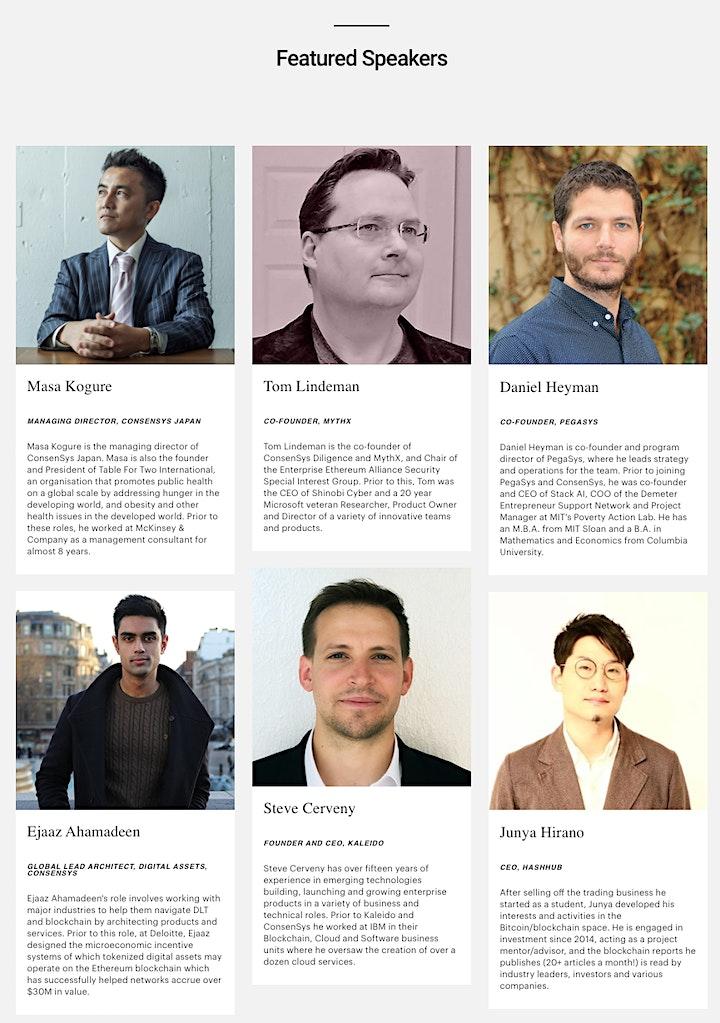 ConsenSys Enterprise Ethereum Blockchain Showcase in Tokyo image