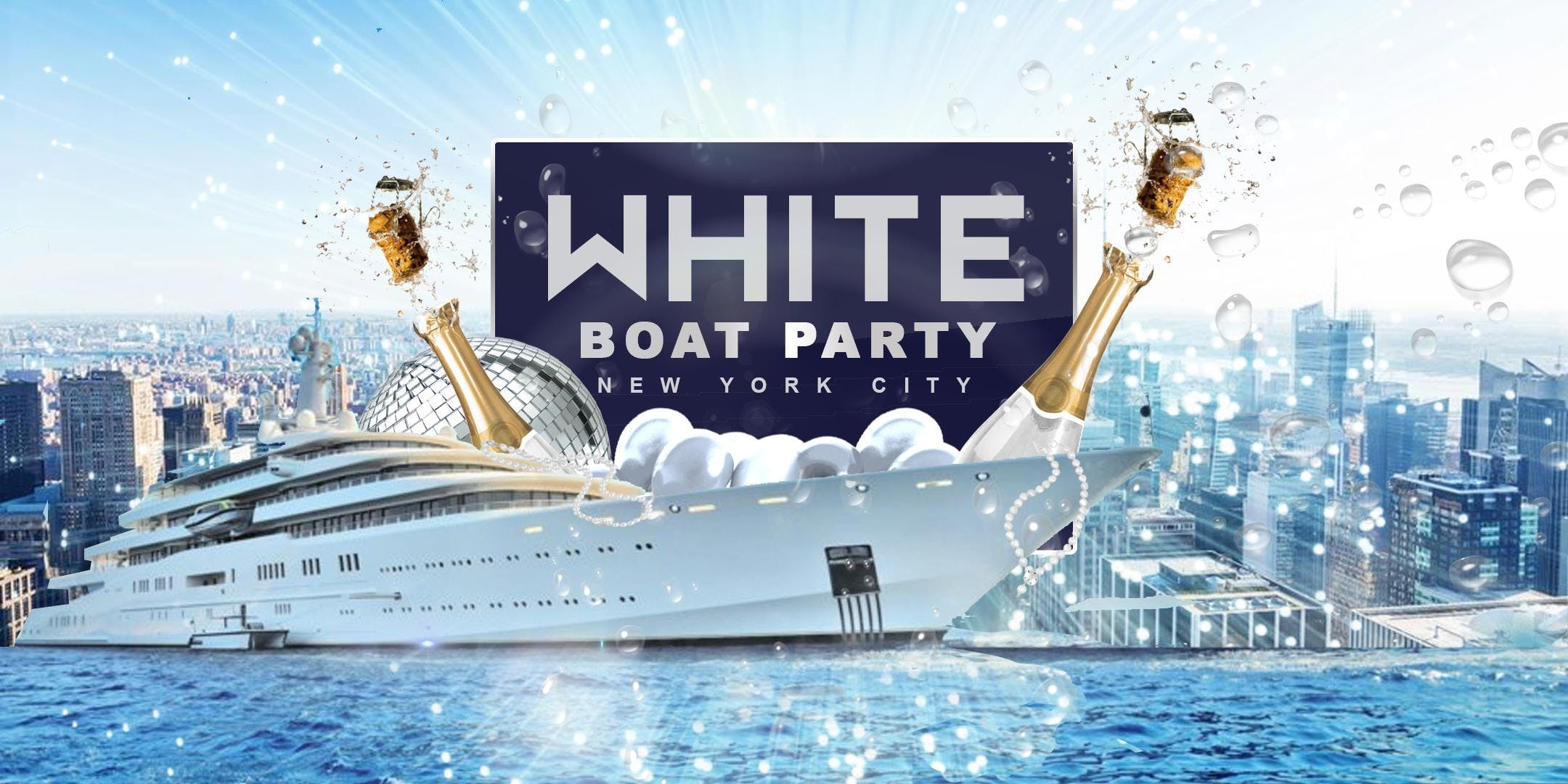 The All White Affair Boat Party Yacht Cruise NYC: Summer Series
