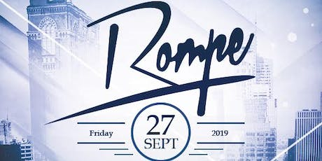 ROMPE party Hip Hop and Reggaeton music at Holy Cow Nightclub tickets