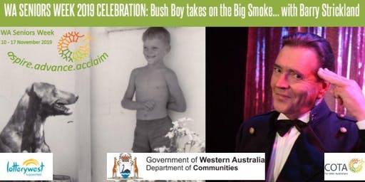 WA Seniors Week 2019 Celebration with Barry Strickland