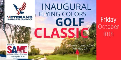 Flying Colors Golf Classic - Veteran Chamber & SAME LA Post tickets