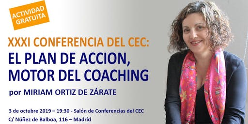 CONFERENCIA: EL PLAN DE ACCIÓN, MOTOR DEL COACHING