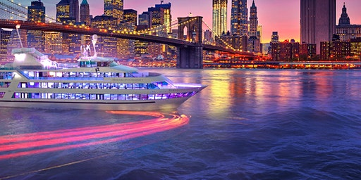 NYC #1 Cruise Hornblower's Mega Yacht INFINITY Boat Party Manhattan