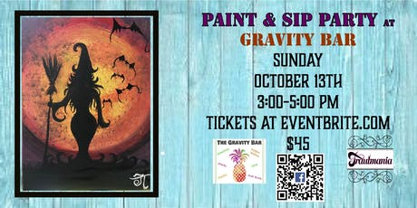 Paint Party Afternoon At Gravity Bar tickets