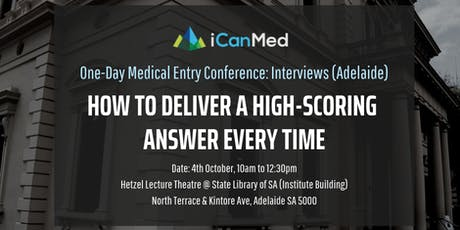 One-Day Medical Entry Conference: Free Interview Workshop (ADEL) tickets