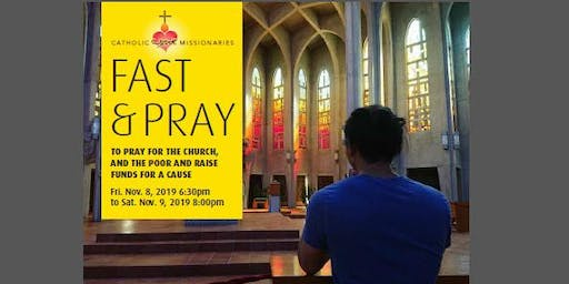 24-Hour Fast & Pray at Westminster Abbey for Young Adults 2019