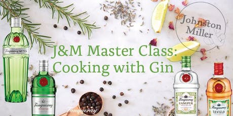 Cooking with Gin Master Class tickets